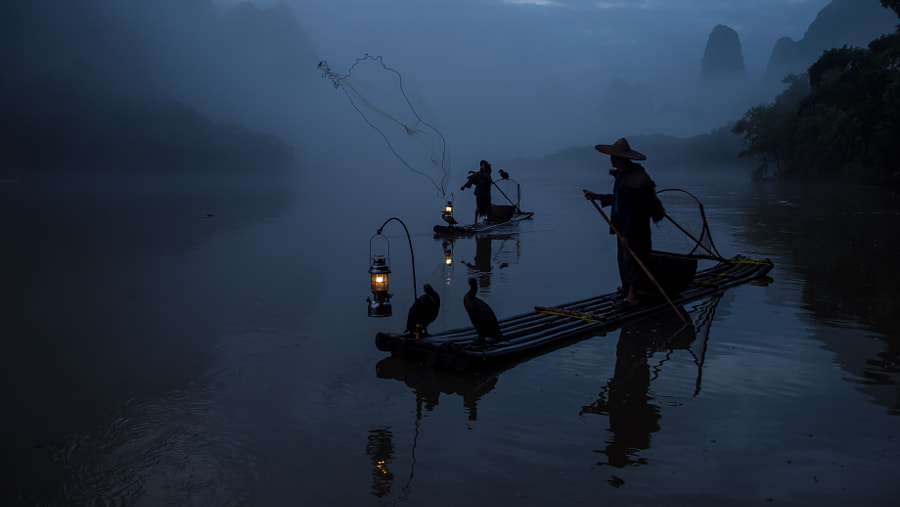 Early Morning Fishing by Mercier Zeng on 500px.com