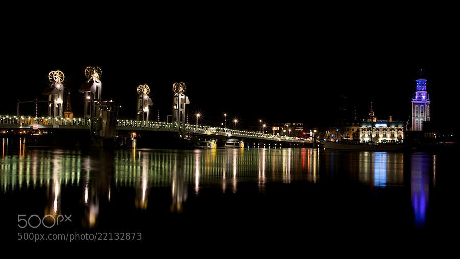 Photograph Kampen by night by Erik Veldkamp on 500px