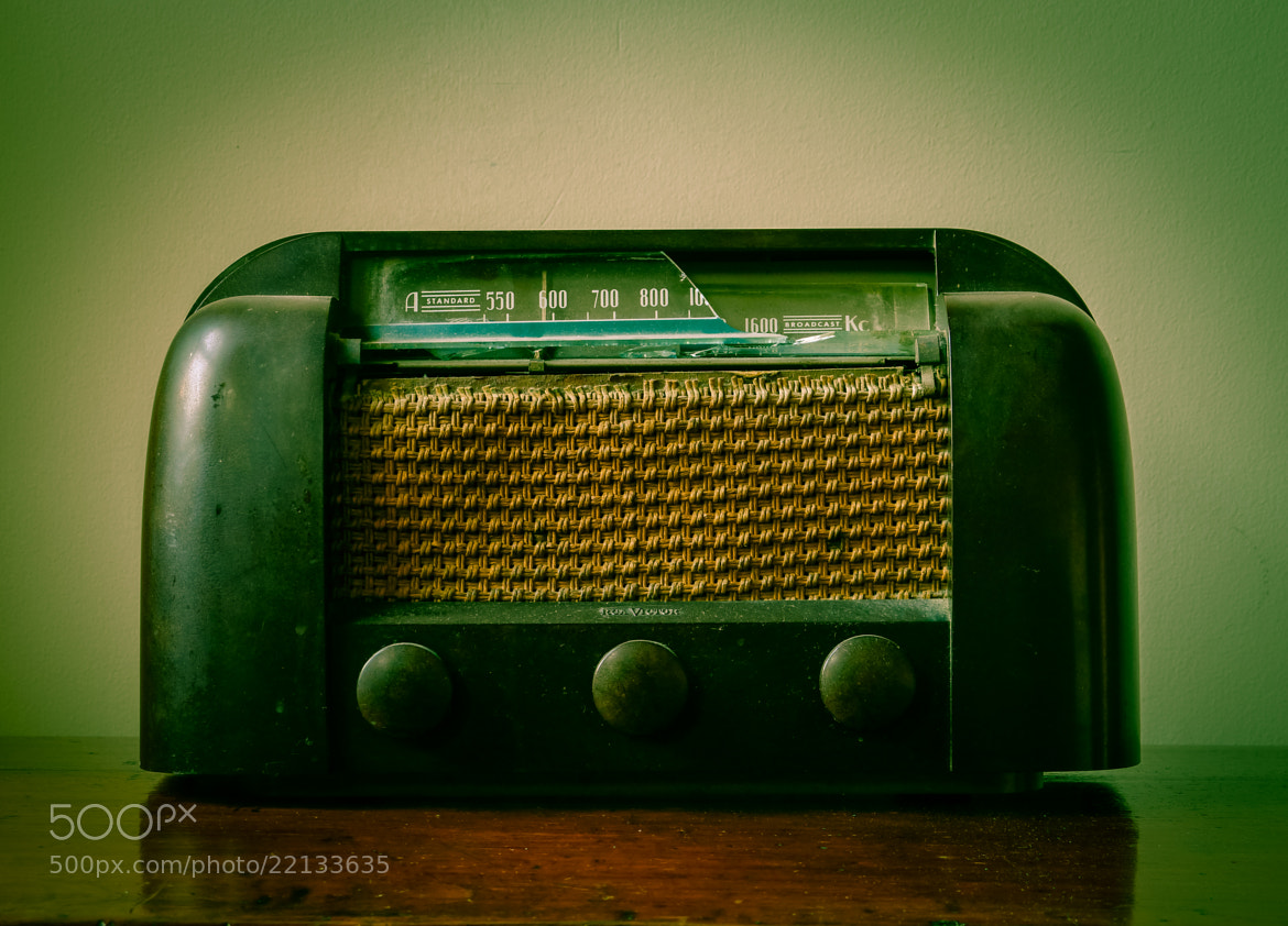 Photograph Old Broken Vintage Radio by carlos restrepo on 500px