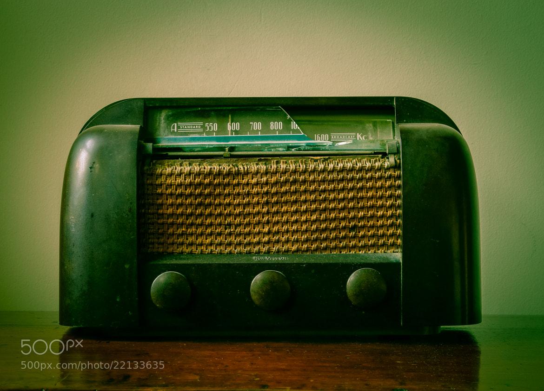 Photograph Old Broken Vintage Radio by carlos restrepo on 500px