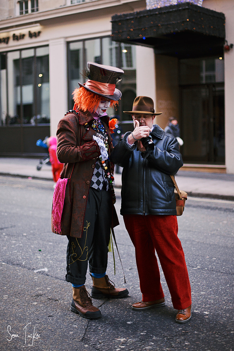 Photograph Shooting the Mad Hatter by Sean Tucker on 500px