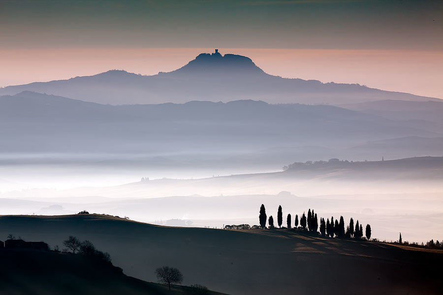 Photograph Val d' Orcia Dawn by Jim Nilsen on 500px