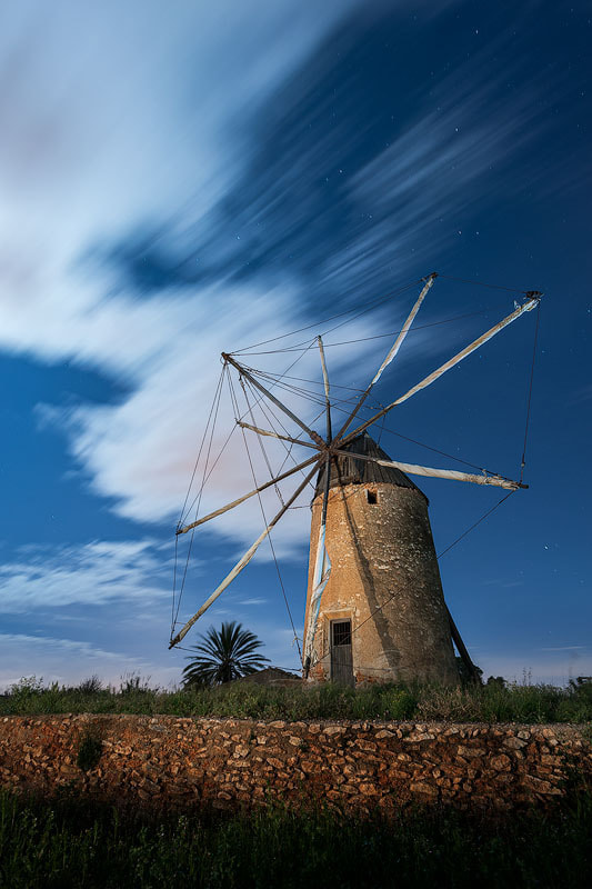 Photograph Old windmill by Manuel Tobarra on 500px