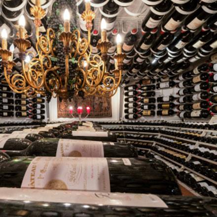 wine cellar on the Arlberg
