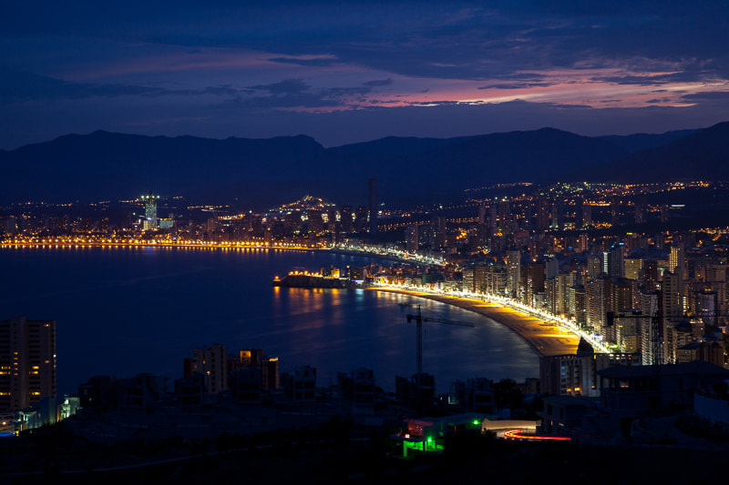 Photograph Benidorm just after sunset by Tor Atle Kleven on 500px