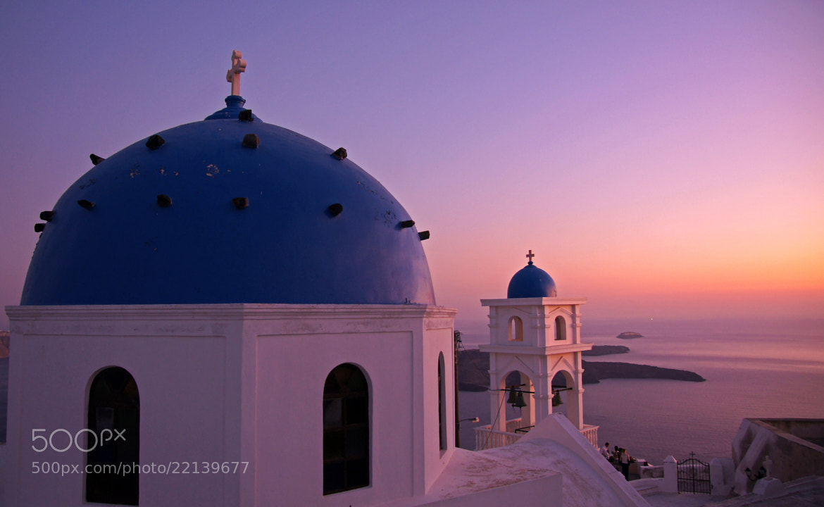 Photograph Church at Oia - Santorini Island - Greece by Lluis Grau on 500px