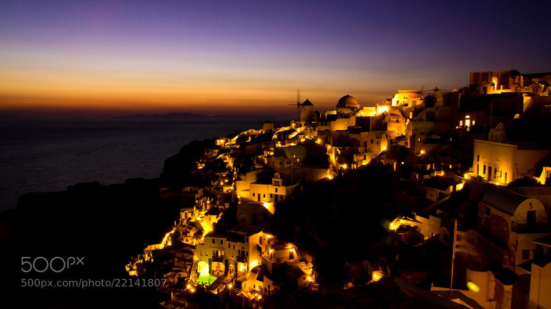 Photograph Last lights at Oia - Santorini Island - Greece by Lluís Grau on 500px