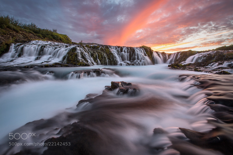 Photograph Infinite Cascades - Bruarfoss - Fludir - Iceland by Sandy Gennrich on 500px