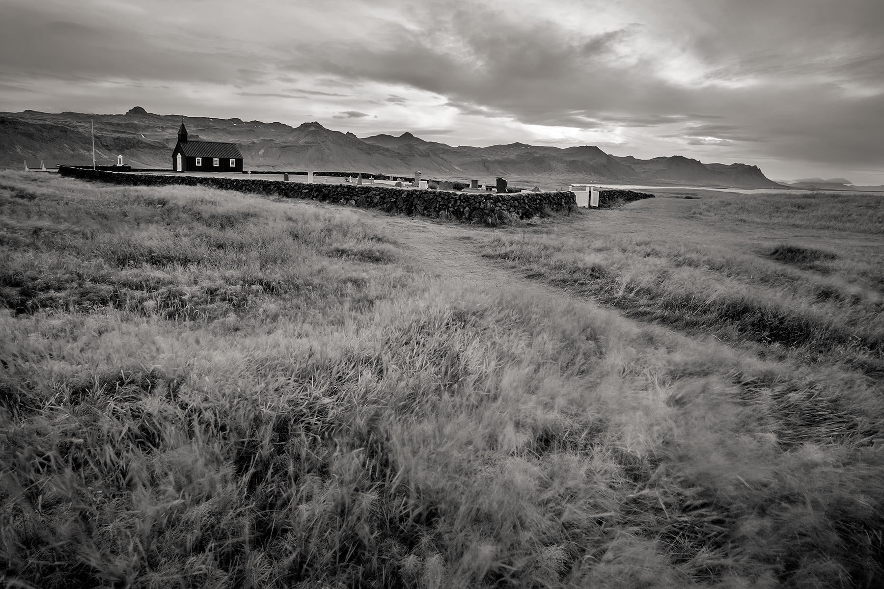 Photograph Windswept Resting Place - Budir - Iceland by Sandy Gennrich on 500px
