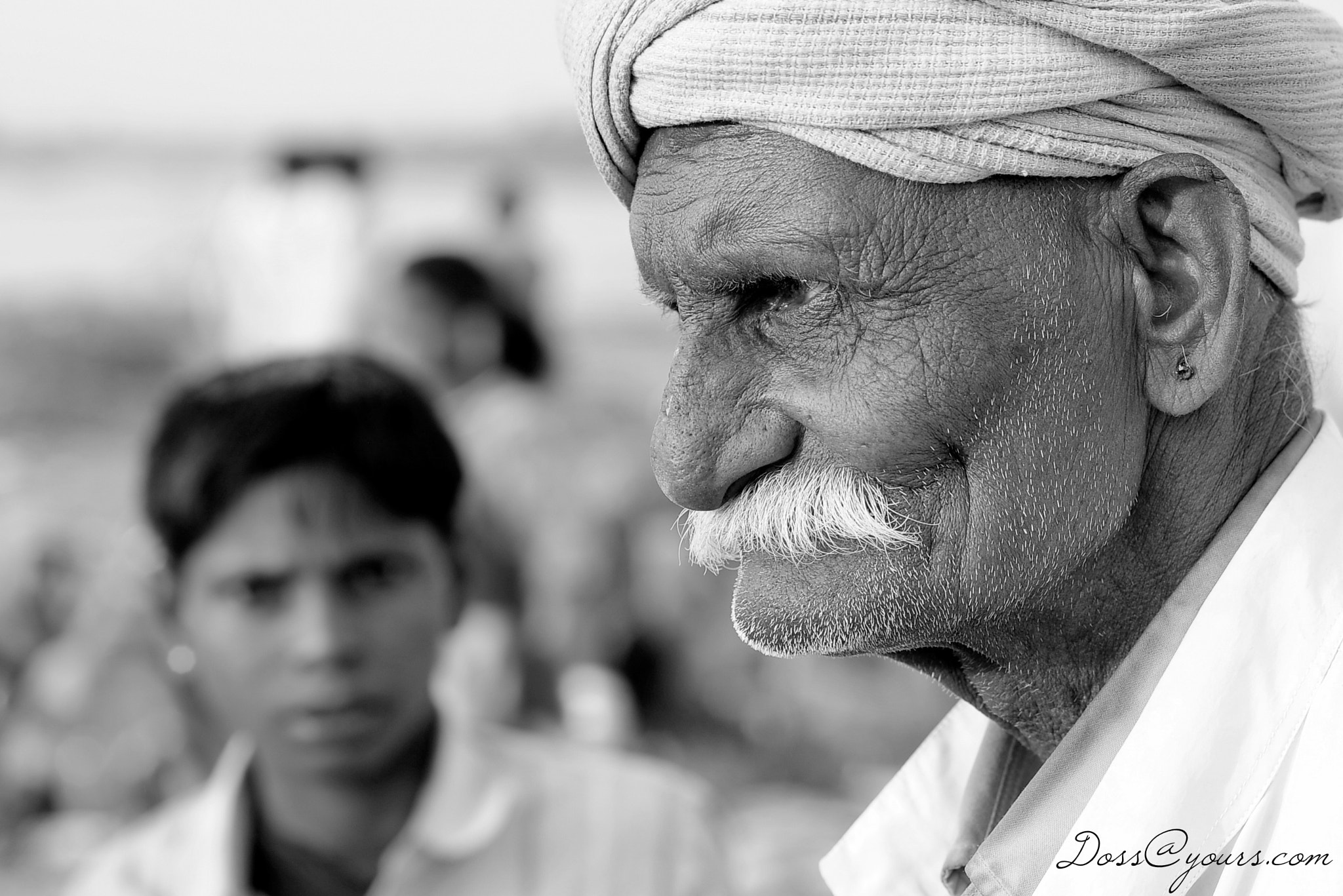 Photograph Bhil Elder by Doss@yours Photography on 500px