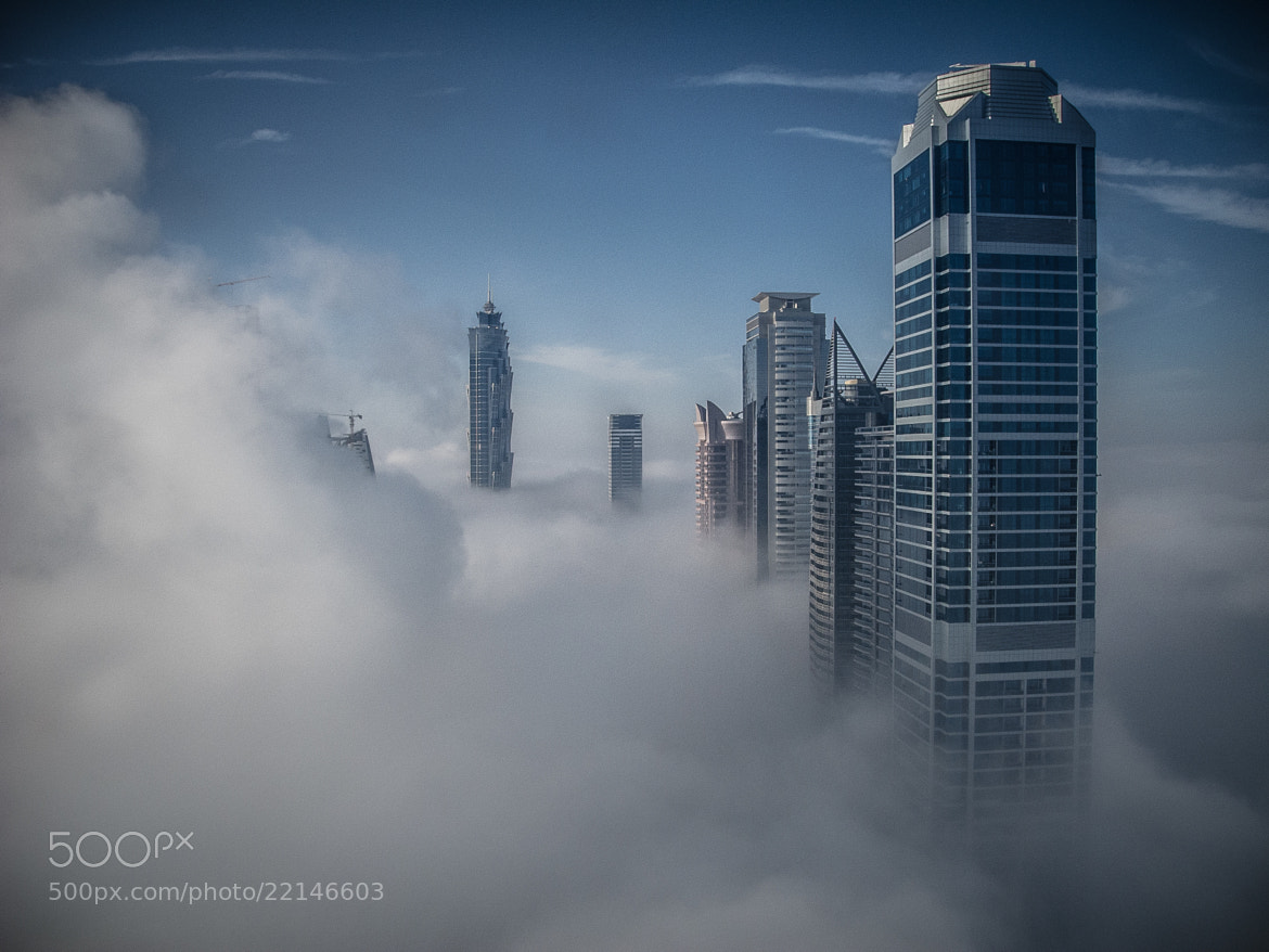 Photograph Foggy Skylilne by Alan Story on 500px