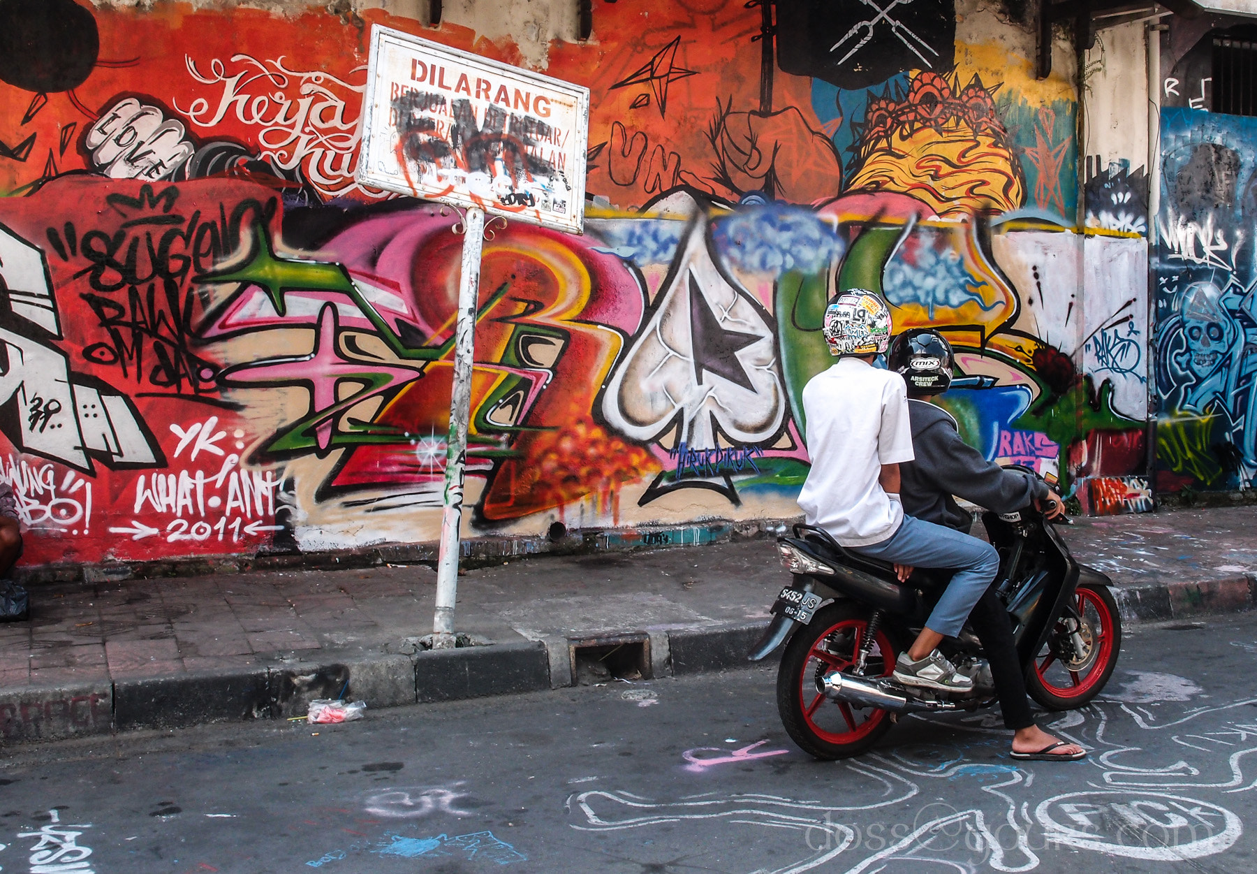 Photograph Yogyakarta Graffarti by Doss@yours Photography on 500px
