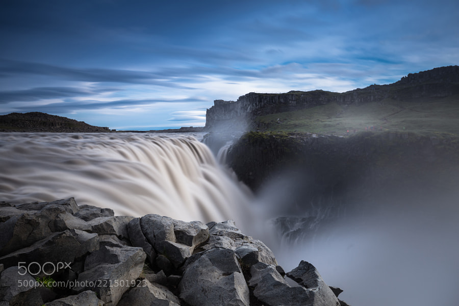 Dettifoss long time exposure