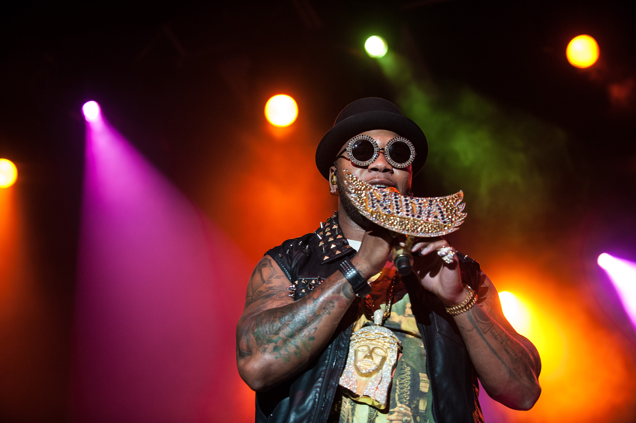 Photograph Flo Rida at the COTA Club by Dave Wilson on 500px