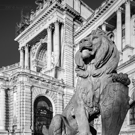 Royal Hoffburg and its Lions