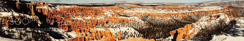 Photograph Bryce Canyon pano by Vishnu MR on 500px
