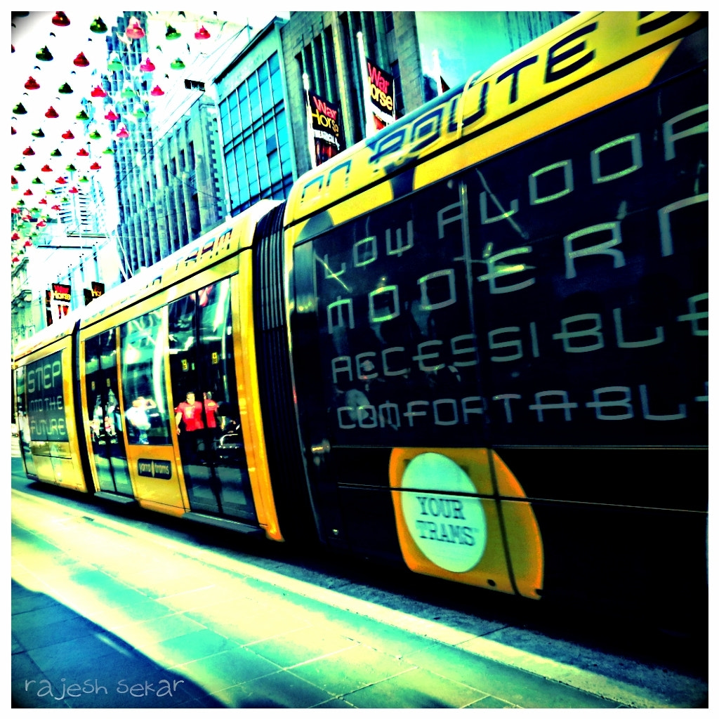 Photograph city tram by Rajesh Sekar on 500px