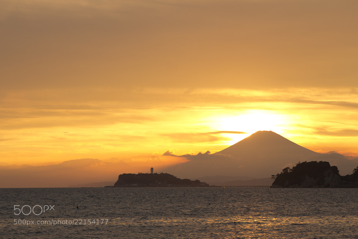 Photograph The Setting Sun by Jun Tagami on 500px