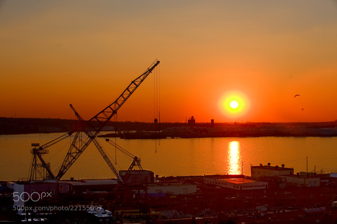 Photograph Sunset at Bayonne, New Jersey by EastWest Zhang on 500px