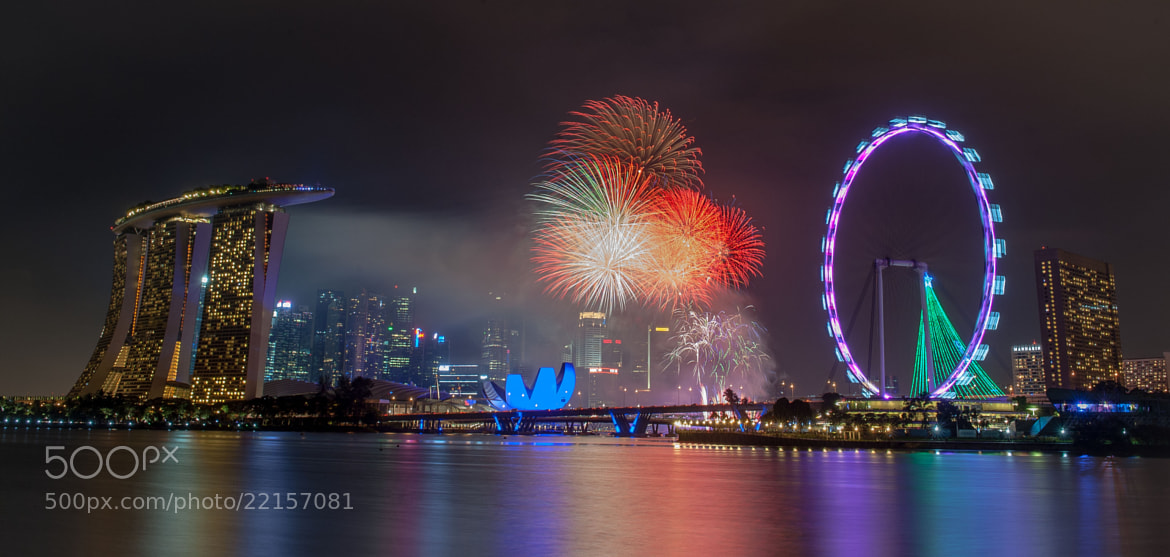 Photograph New Years Fireworks  by subra govinda on 500px