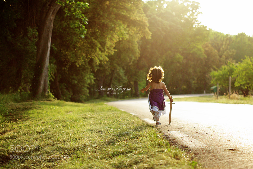 Photograph Little girl by Armelle Touzeau on 500px