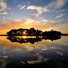 A still evening at Hatchet Pond New Forest