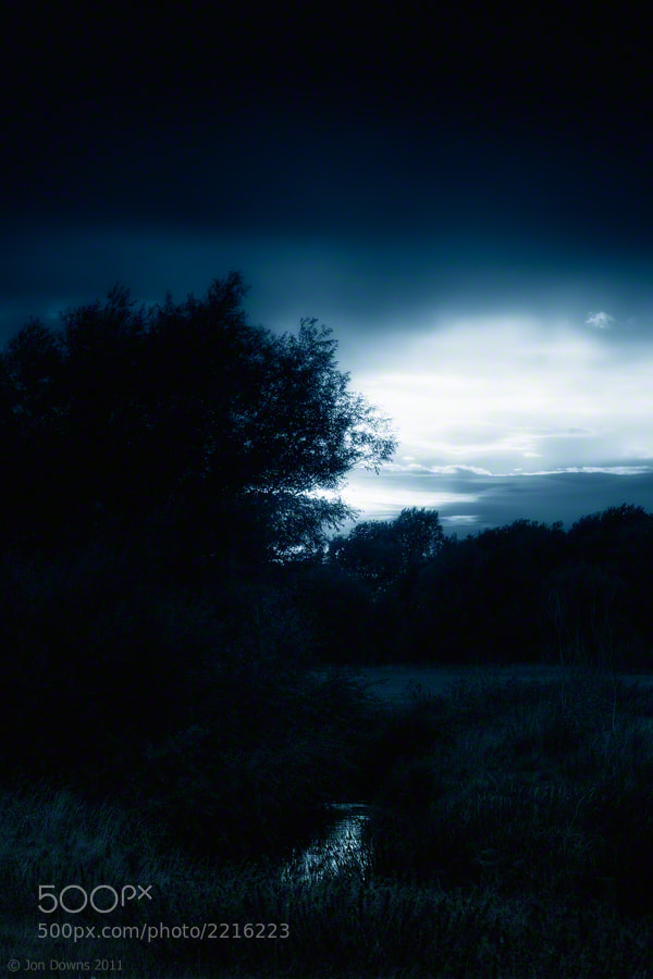 Photograph blue mood by Jon Downs on 500px