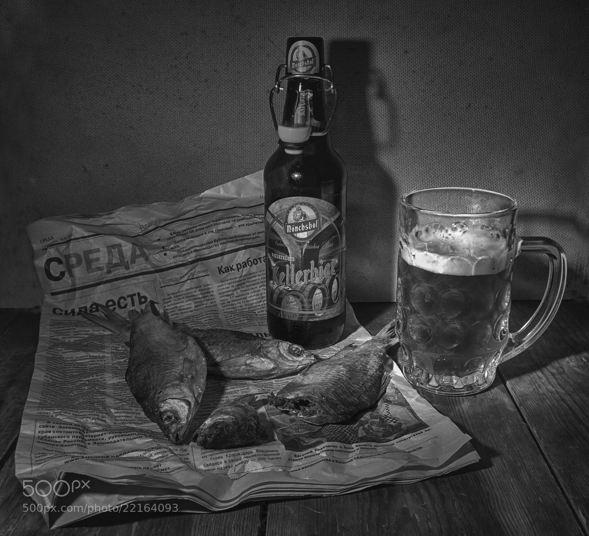 Photograph the Bavarian beer with the Russian fish by INNA SAYGALO on 500px