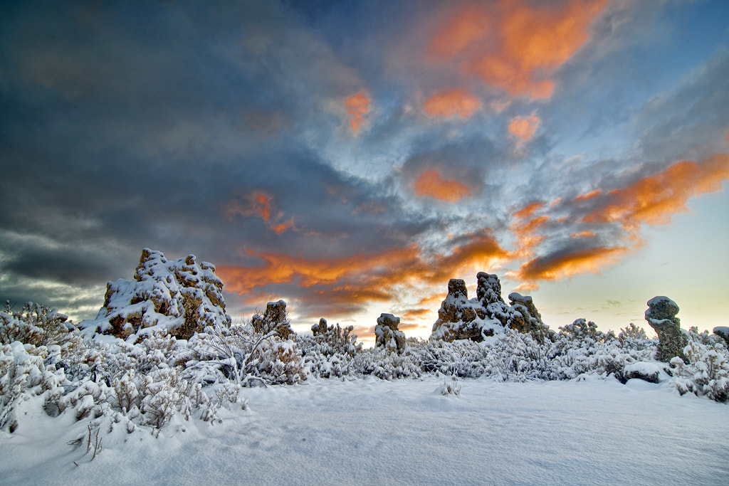 Photograph Snowy at Mono Lake by Peter Dang on 500px
