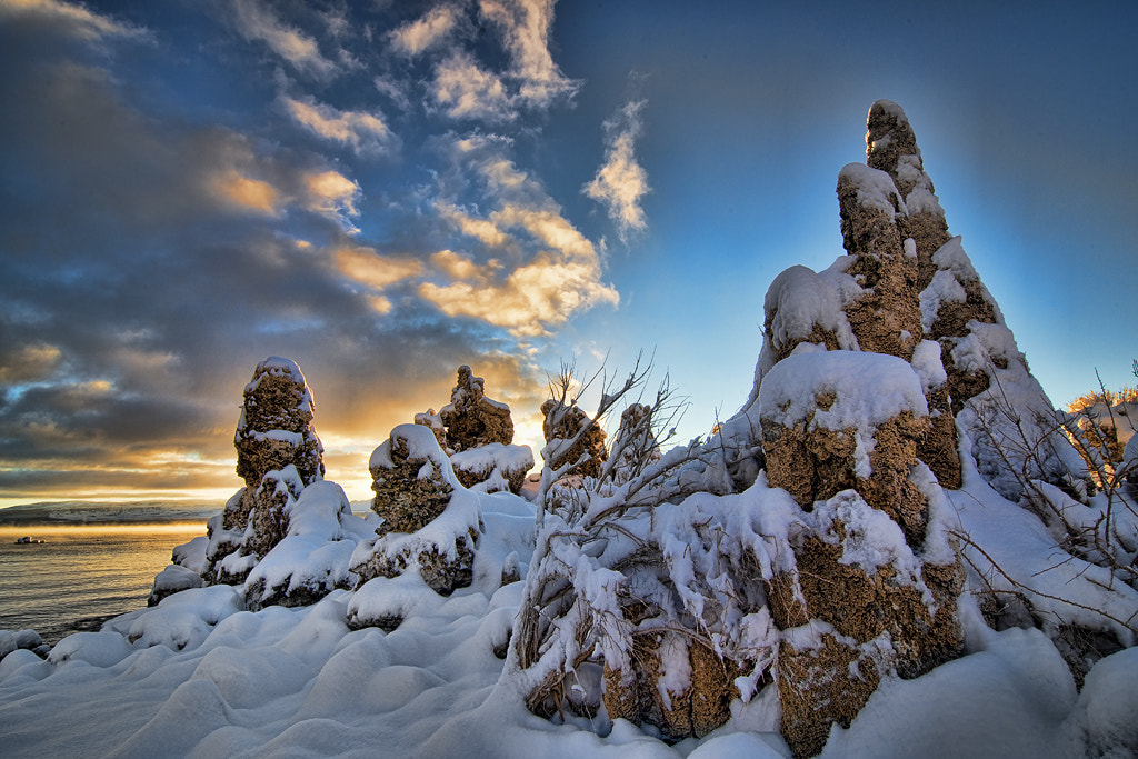 Photograph Sunrise at Mono Lake by Peter Dang on 500px