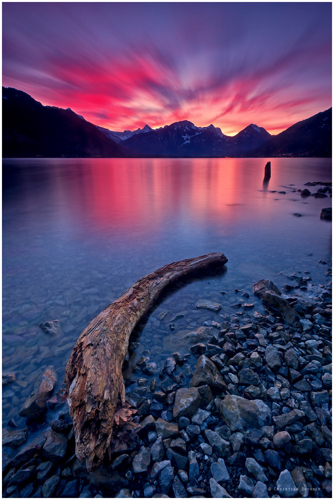Photograph 285 Seconds Sunset Light by Christian Ringer on 500px