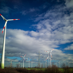 Windmills by Øystein Vidnes (oysteinvidnes)) on 500px.com