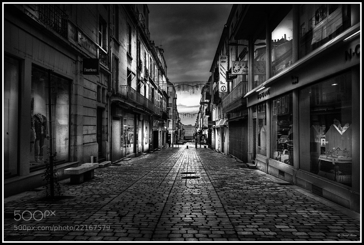 Photograph Dark Street 12 by David Tavan on 500px