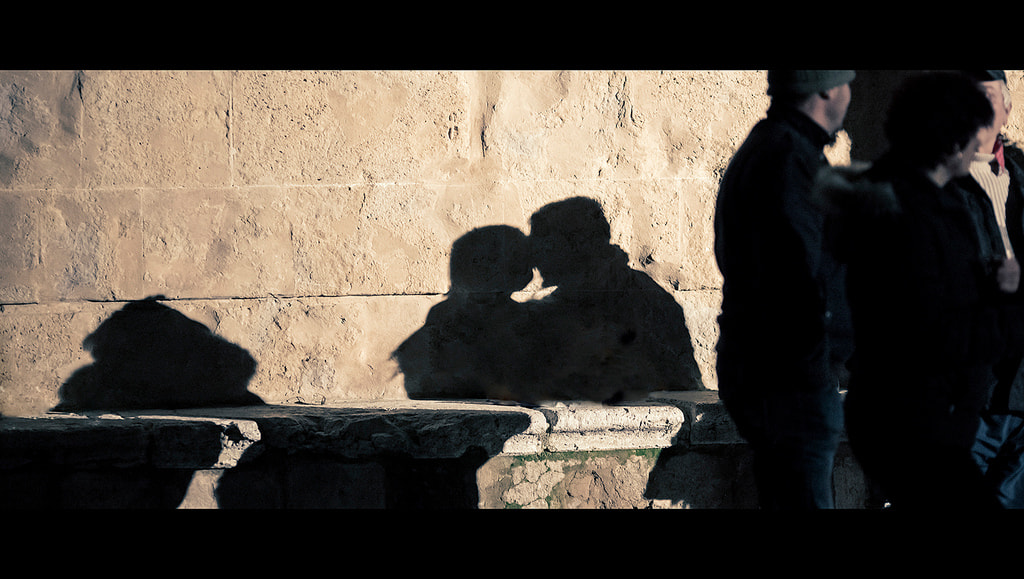 Photograph The shadow of lovers by laura  malucchi on 500px