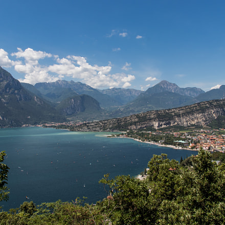 View over Riva del Garda