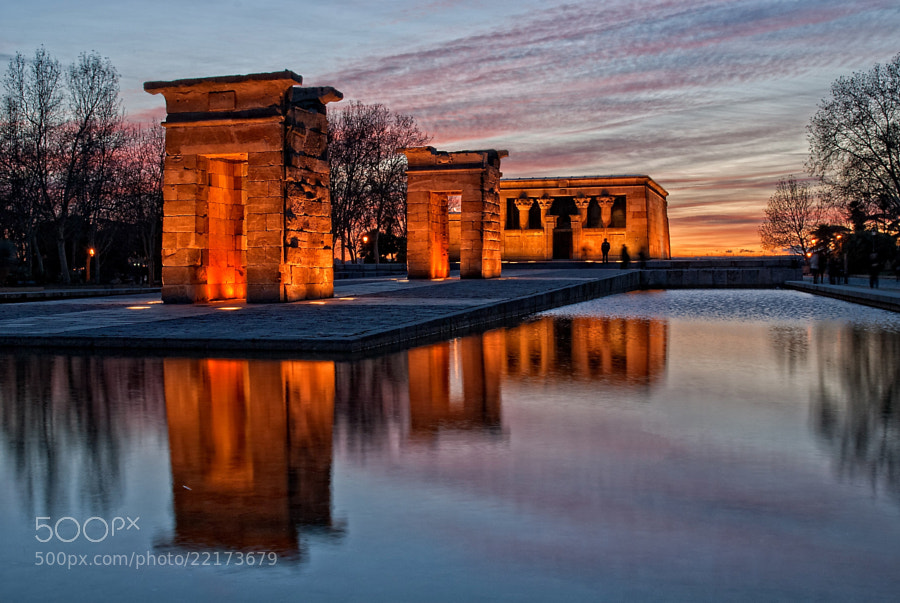 Photograph Templo de Debod by Daniel Romero Rodríguez on 500px