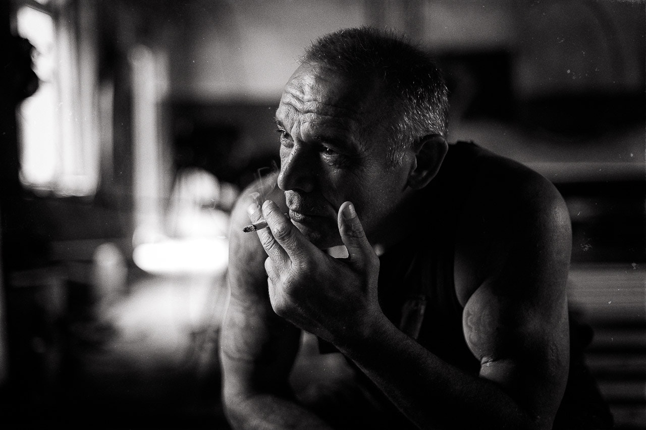Photograph Old prisoner portrait by Aleksey Sinitsky on 500px