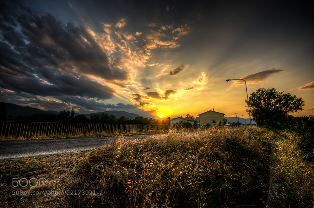 Photograph tramonto by Davide Romanelli on 500px