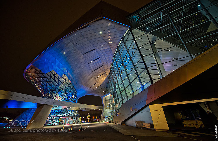 BMW Welt Museum, Munich, Germany
