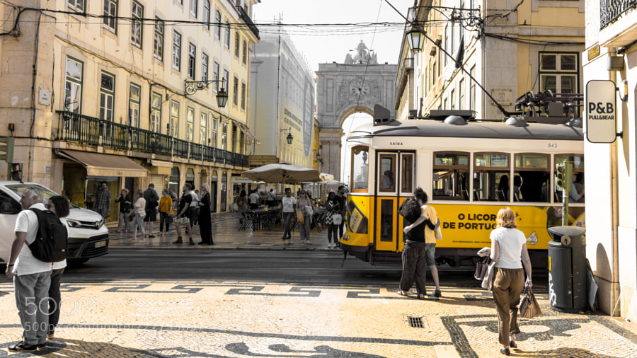 Yellow (also the tram)