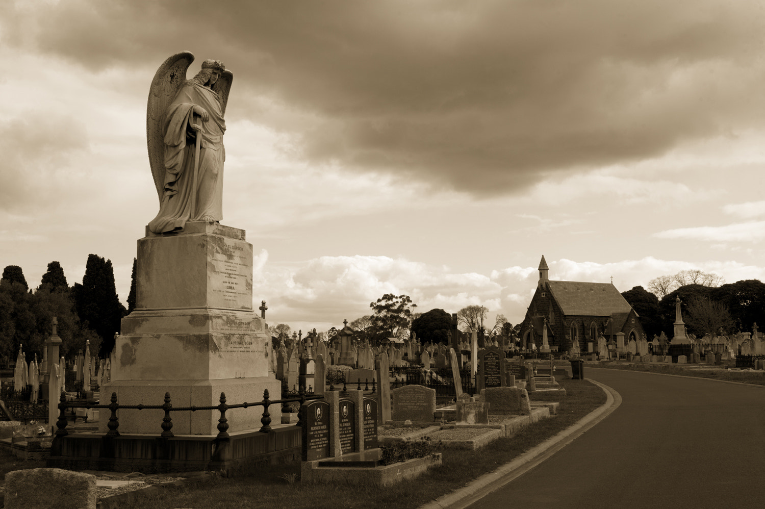 Photograph Melbourne General Cemetery by Mark  on 500px