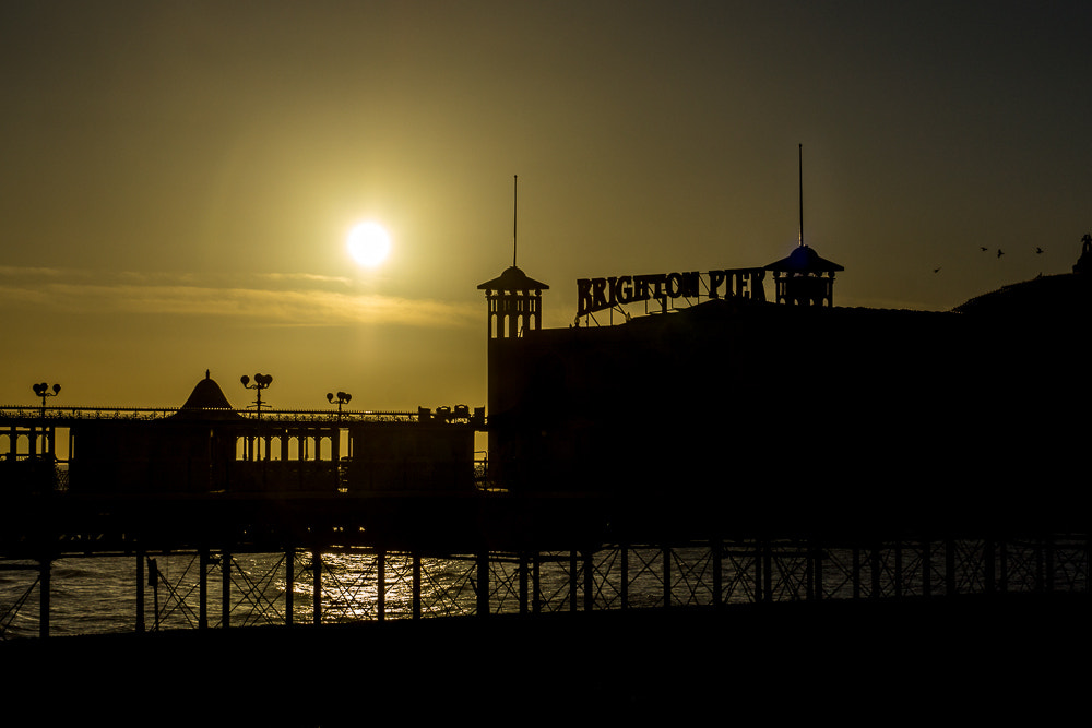Photograph Brighton Pier Silhouette by Dominic Dorey on 500px