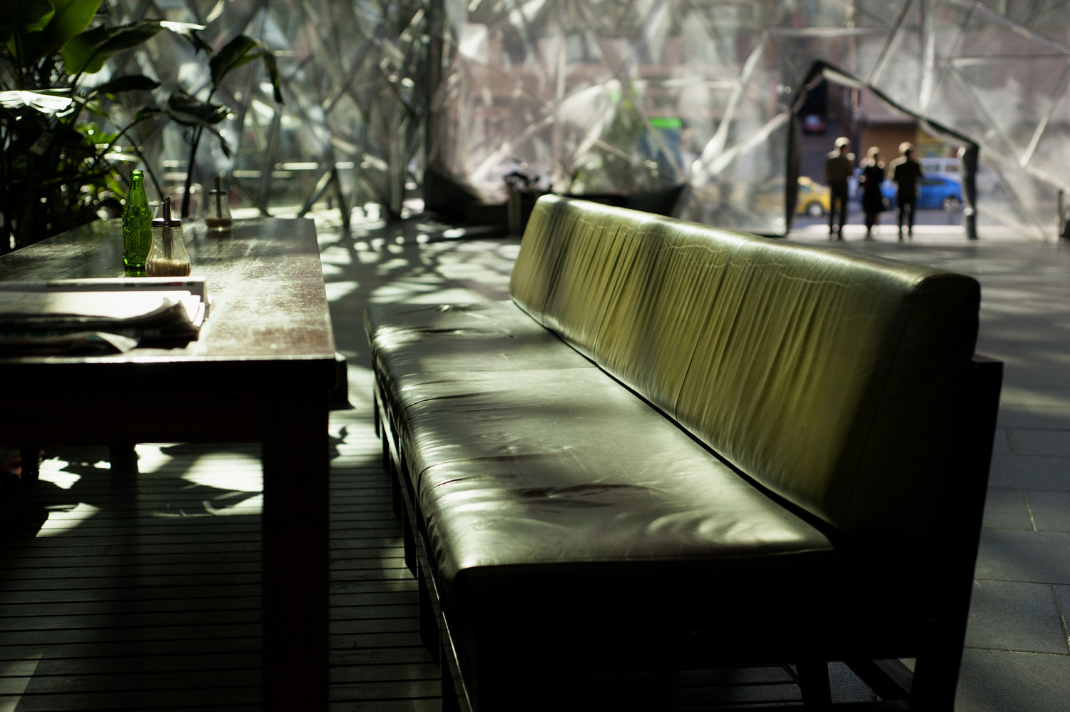 Photograph Green Leather Couch by Mark  on 500px