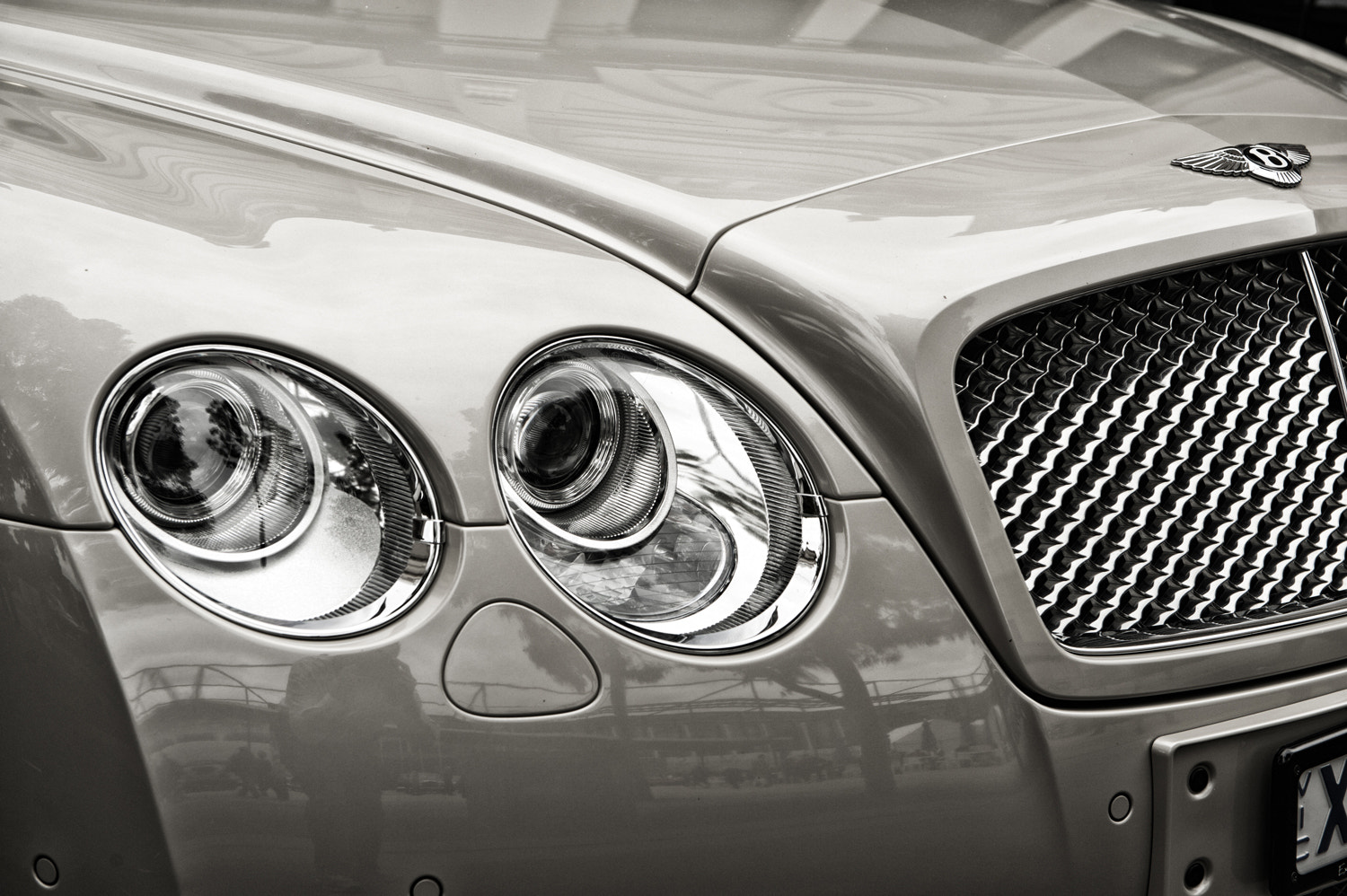 Photograph Bentley by Mark  on 500px