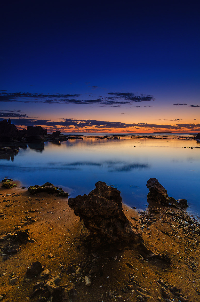 Photograph The Crags Beach by Aaron Toulmin on 500px