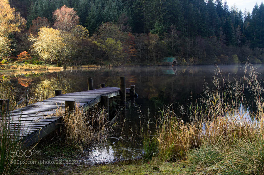 Photograph Loch Ard by Chris Jones on 500px