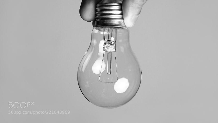 Uma lâmpada sem o gênio
