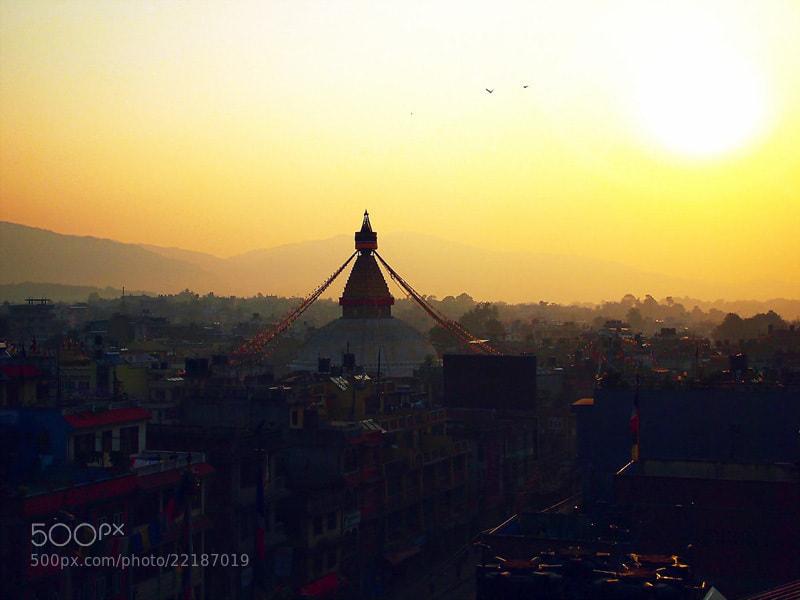 Photograph Boudha, Nepal by Au Phairatphiboon on 500px