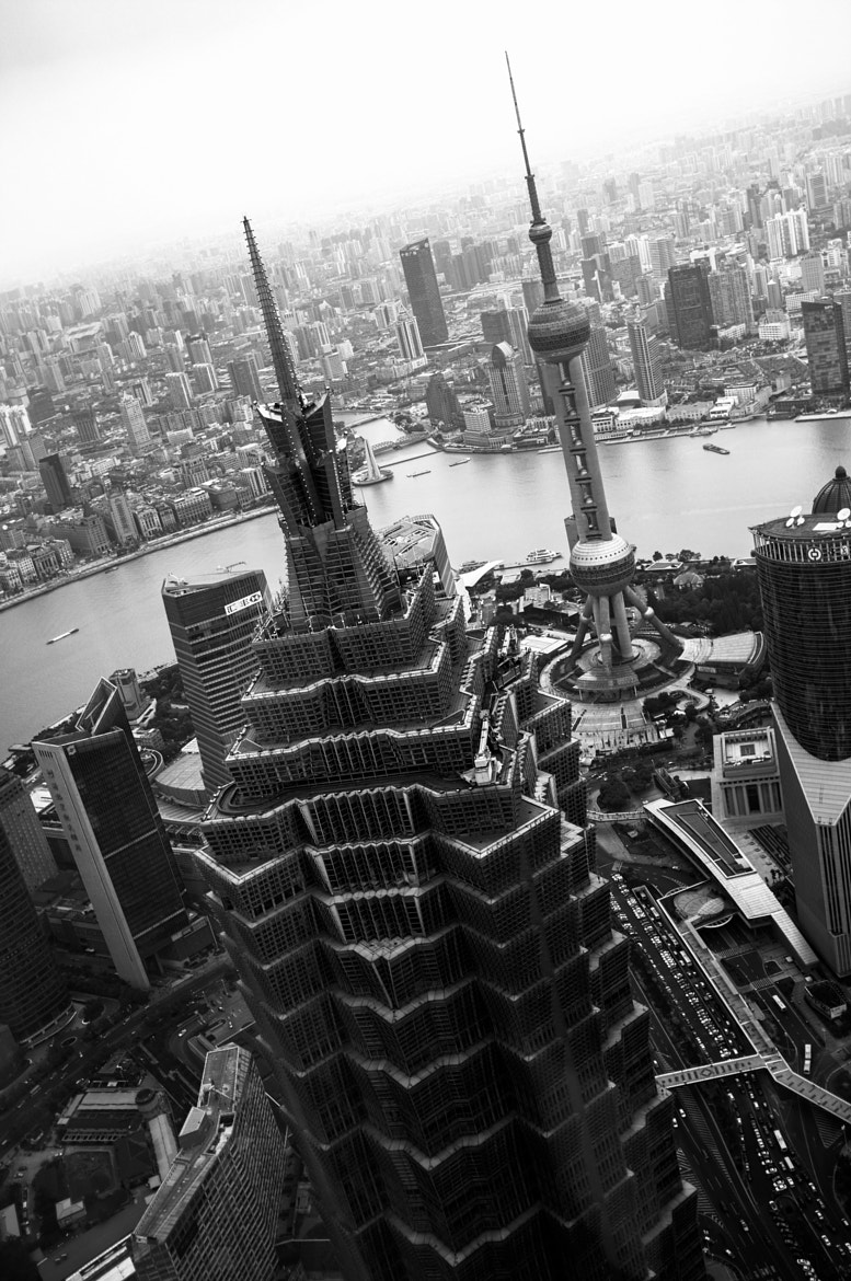 Photograph Jin Mao Tower in Shanghai by Andrej Iliev on 500px