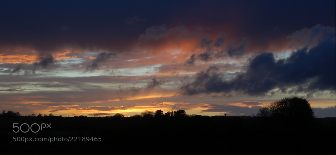 Photograph Wiltshire Sunset by Kate Walker on 500px